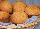 Banana, Cream Cheese and Oatmeal Muffins