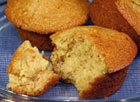 Honey Cornbread Muffins