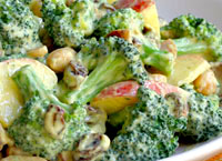 Broccoli Salad with Honey Mustard