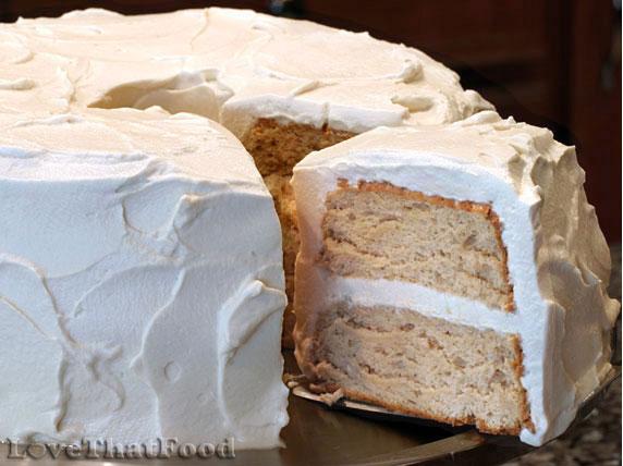 Brown-Sugar Angel Food Cake Recipe — Dishmaps