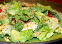Chicken Chipotle Ranch Salad