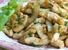 Chicken with Basil
