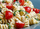 Fusilli with Ricotta and Cherry Tomatoes