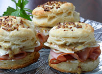 Ham and Cheese Honey Mustard Sliders
