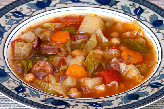 Hawaiian Portuguese Soup