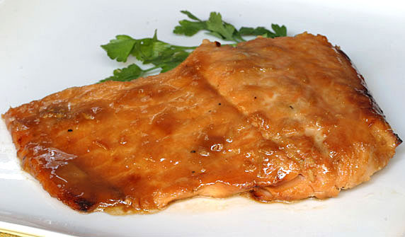 Honey Ginger Salmon Recipe With Picture Lovethatfood Com