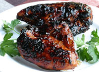 Louisiana Barbecued Chicken