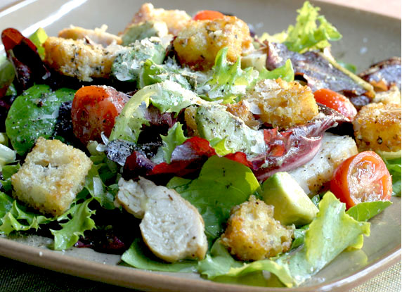 Garden Salad With Dijon Vinaigrette Recipe With Picture