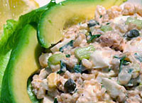 Salmon Rice Salad
