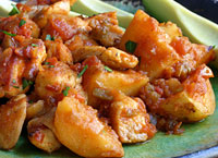 Salsa Chicken and Potatoes