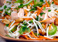 Shrimp Salad with Jicama & Carrot