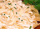 Sour Cream Fettuccine