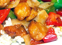 Sweet and Sour Halibut