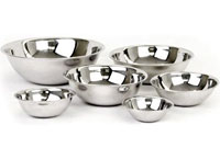 Mixing Bowls (Stainless Steel  Set of 6)